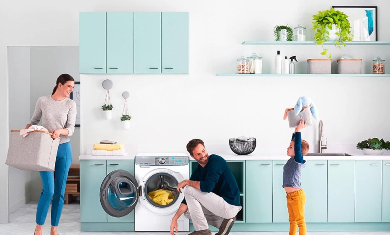 почему стиральную машину ставят на кухне