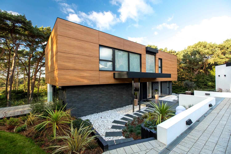 Современный загородный дом: нюансы планировки и интерьера