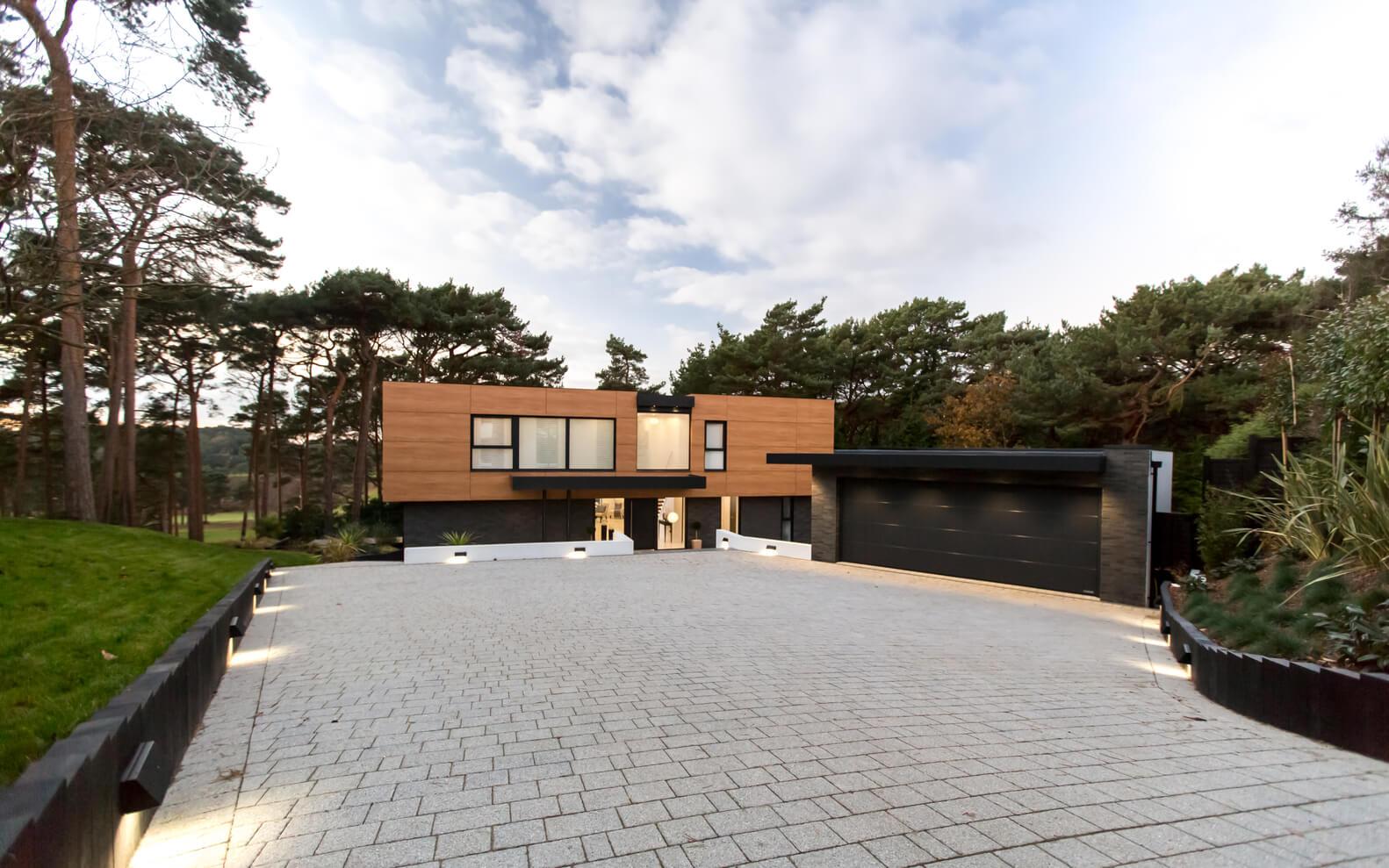 современные интерьеры загородных домов