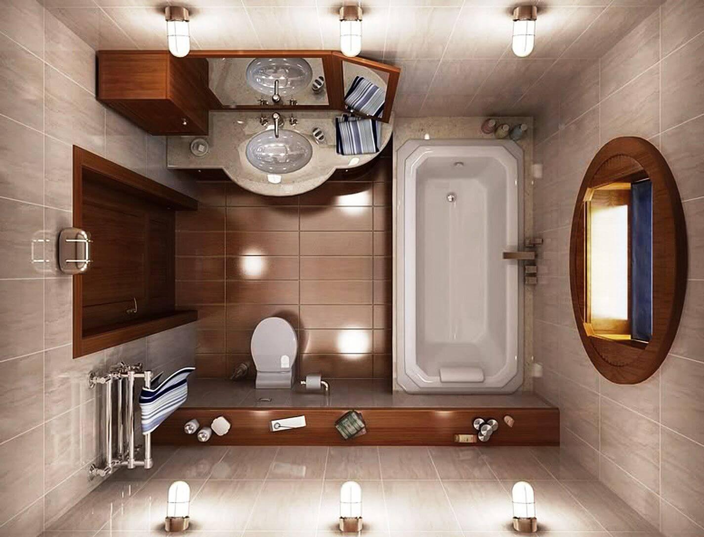 дизайн в ванной в хрущевке