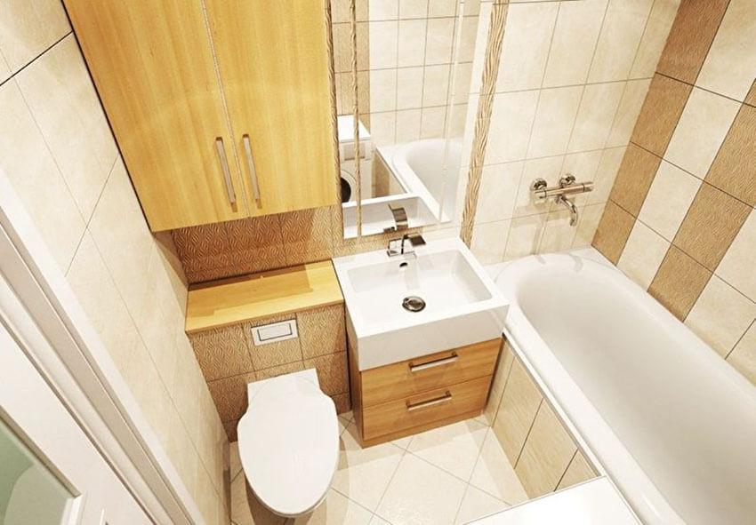 дизайн ванной для хрущевки