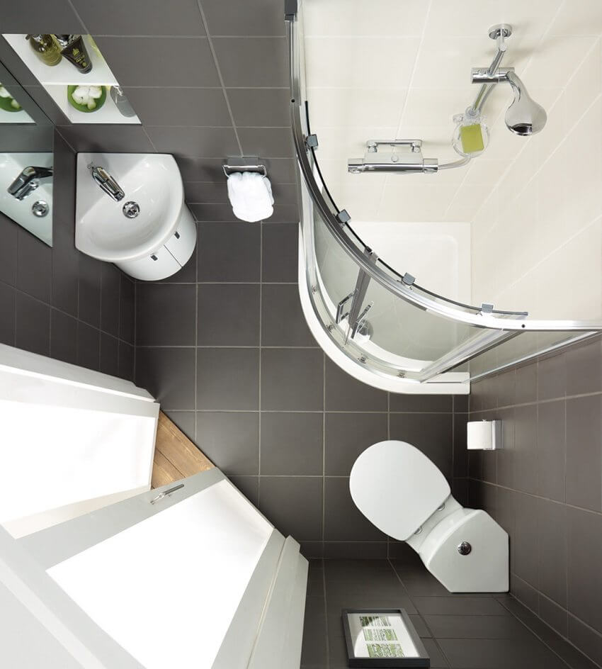 дизайн ванной комнаты для хрущевки