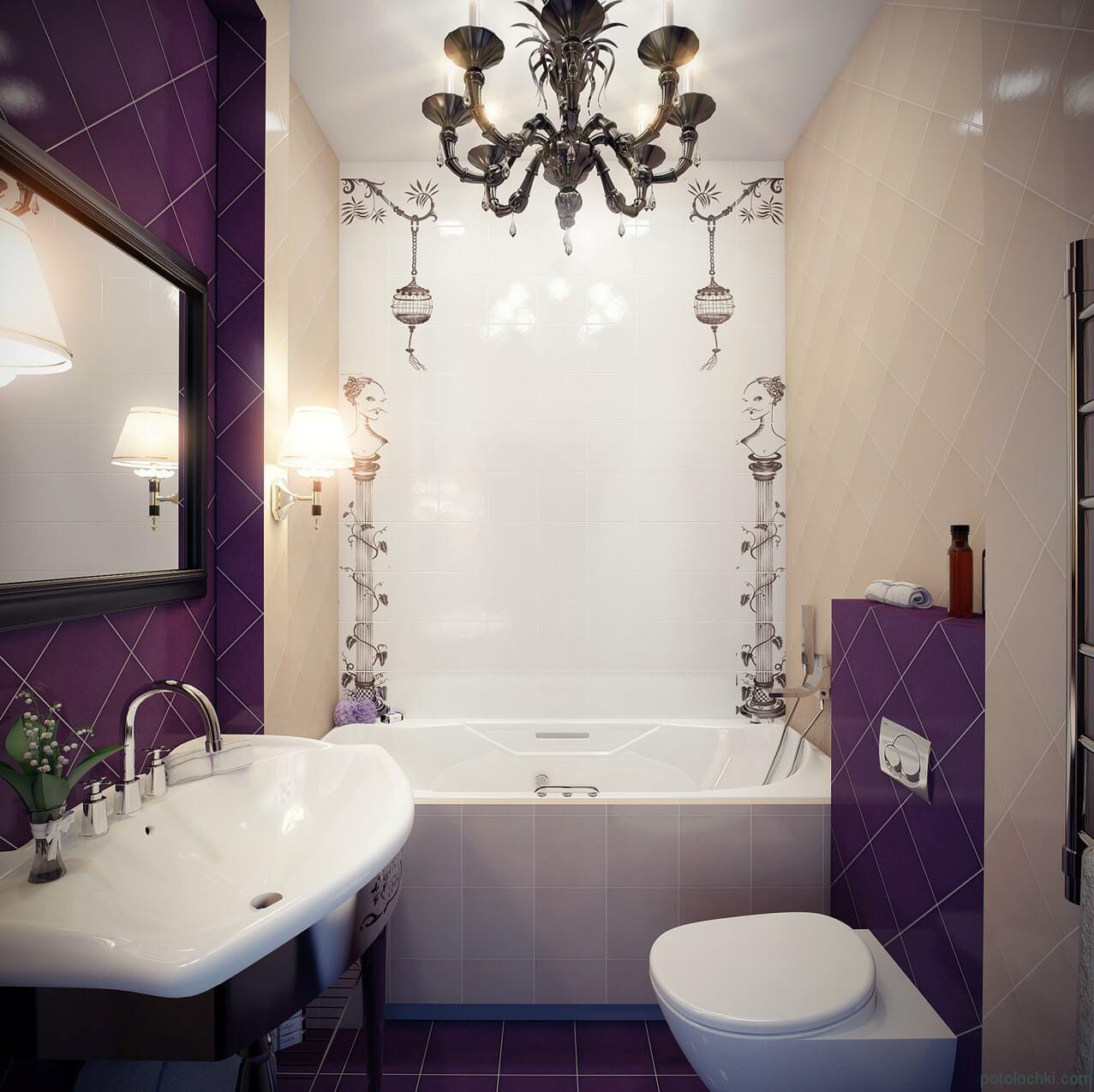 дизайн интерьера маленькой ванной в хрущевке