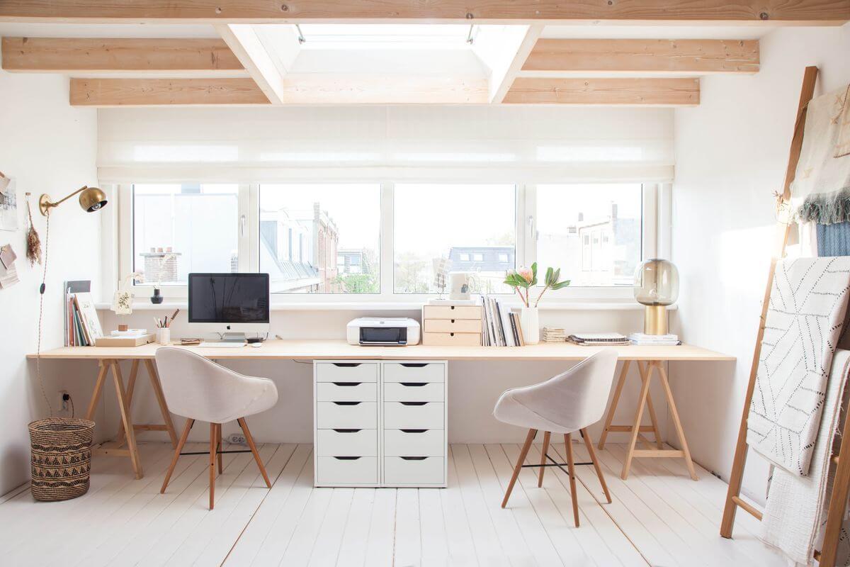 Дизайн рабочего кабинета в частном доме