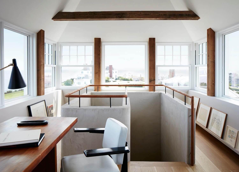 дизайн кабинета в частном доме фото