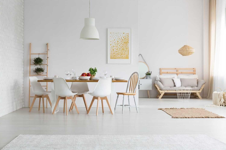 Интерьер квартир в белом цвете