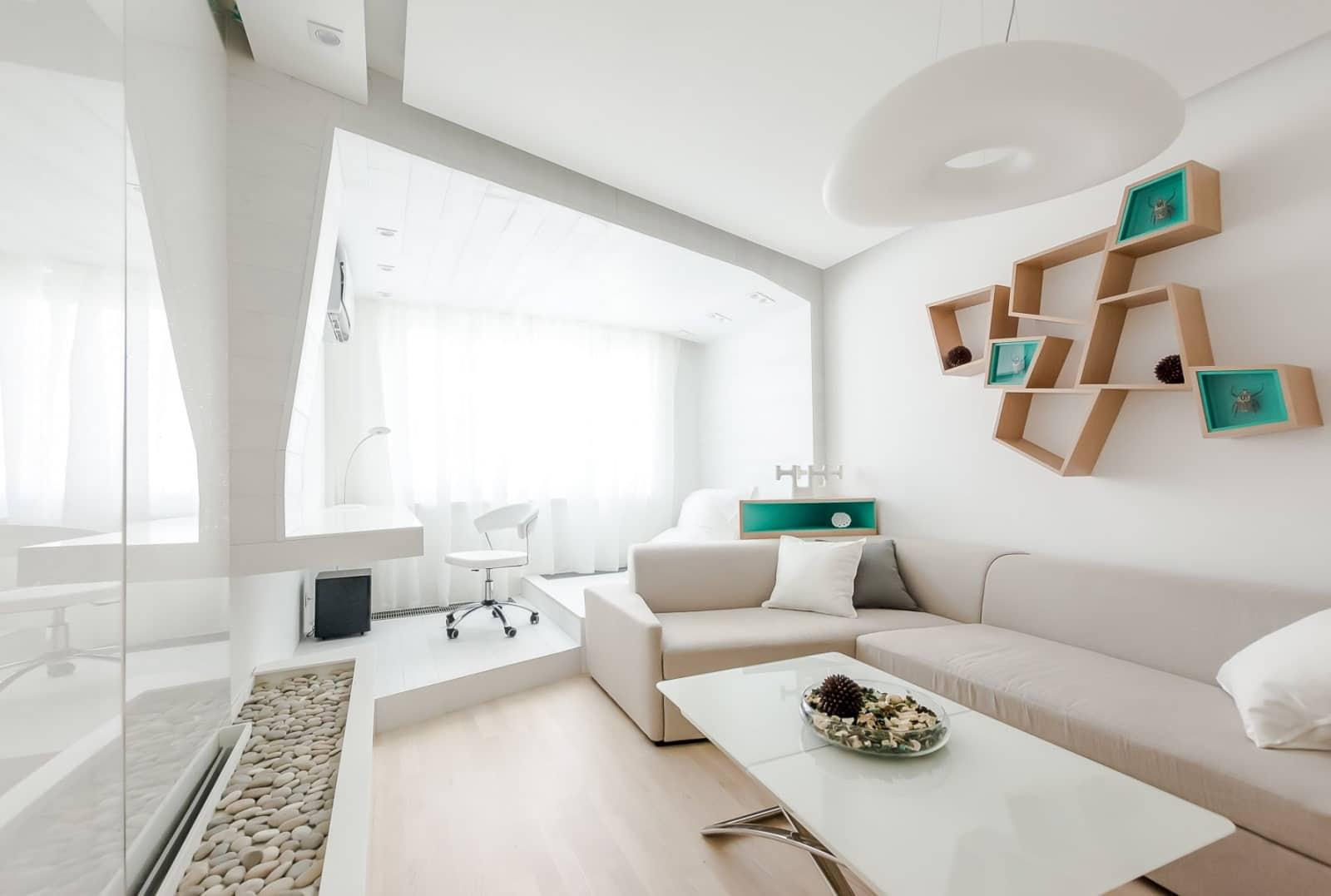 Белый цвет в современном стиле