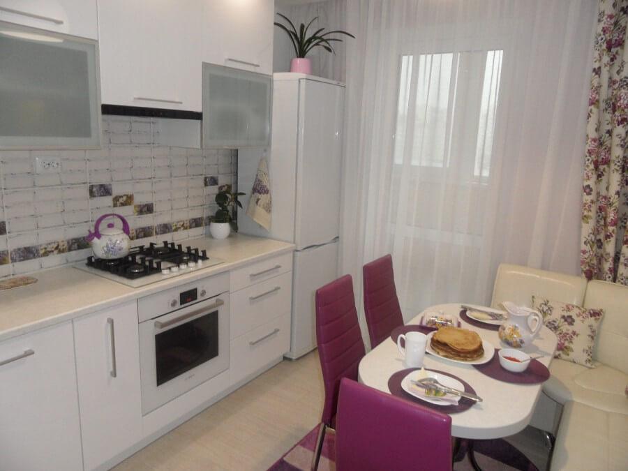 дизайн интерьера кухни 9 кв.м