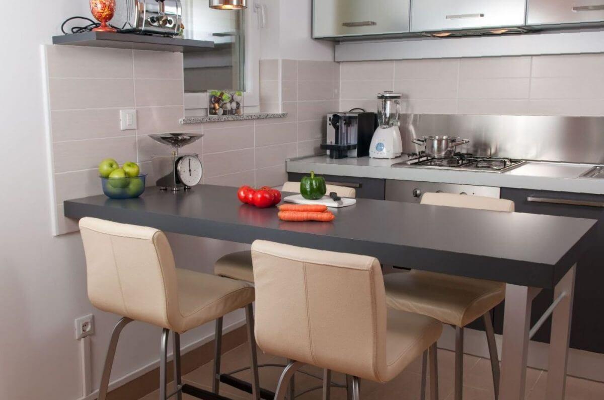 красивый дизайн кухни 9 кв м
