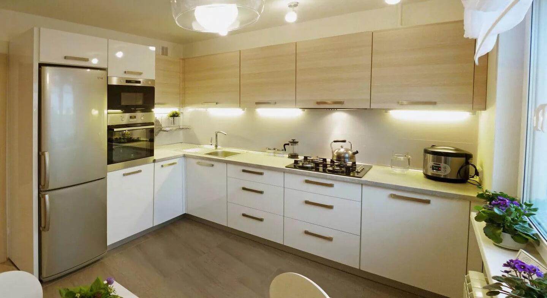 Дизайн кухни 9 кв м: 8 важных пунктов