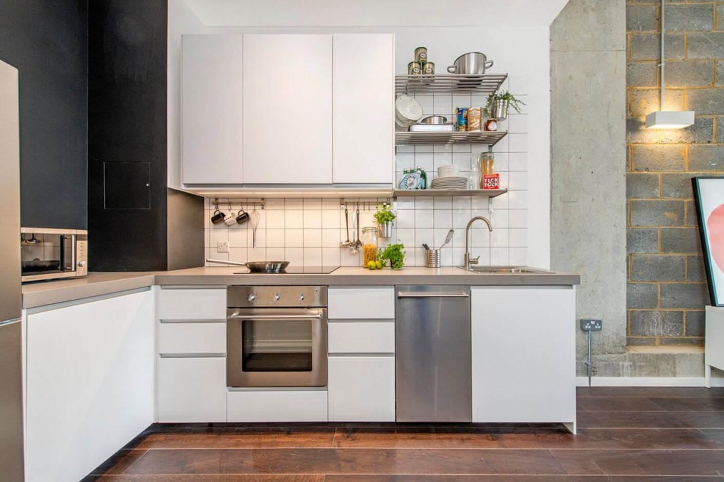 необычный дизайн кухни 9 кв м
