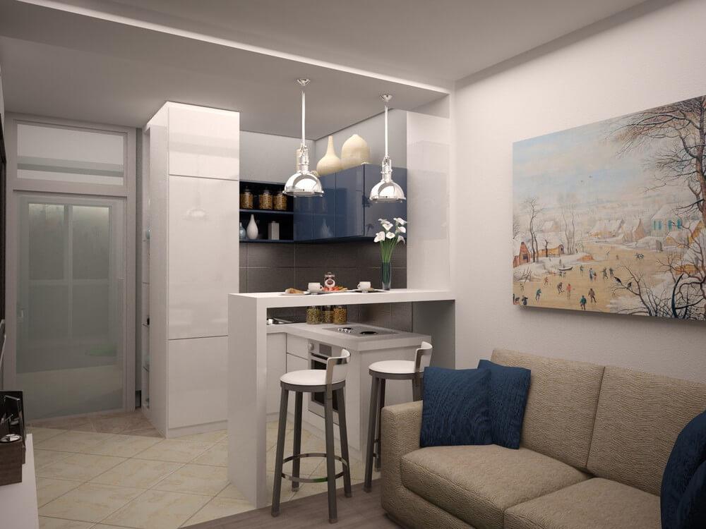 Ремонт квартиры 24 кв м