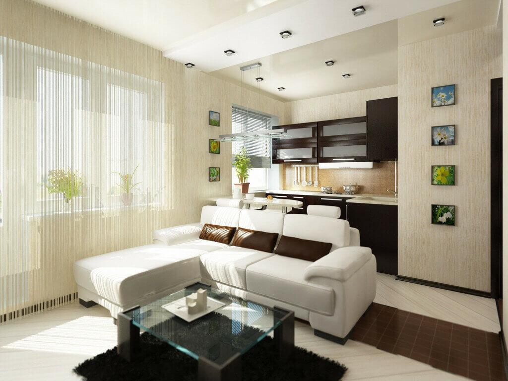 Оформление стиля, выбор мебели и планировка: квартира студия 24 кв м