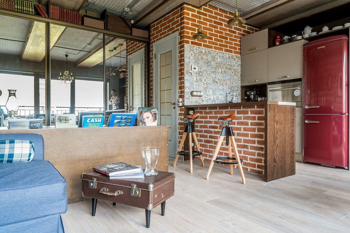 Интерьер квартиры студии 24 кв.м фото