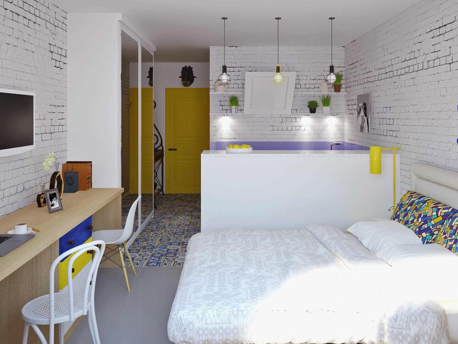 Квартира 24 кв м планировка