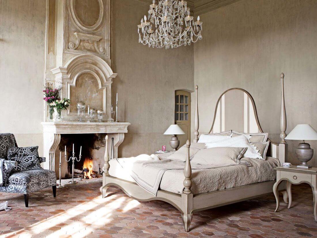 Стиль винтаж в интерьере спальни