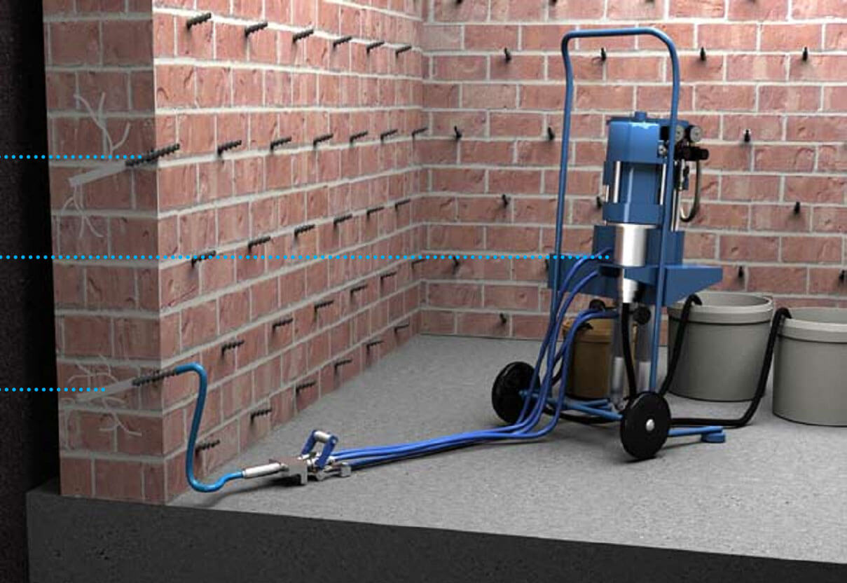 Инъекционная гидроизоляция: надежная защита конструкций от влаги
