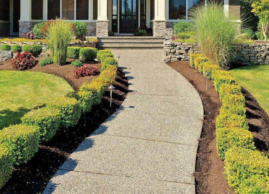 Как сделать садовые дорожки своими руками из бетона