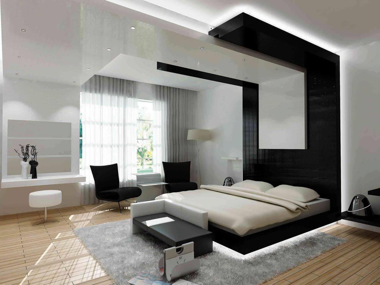 Ремонт в большой спальне