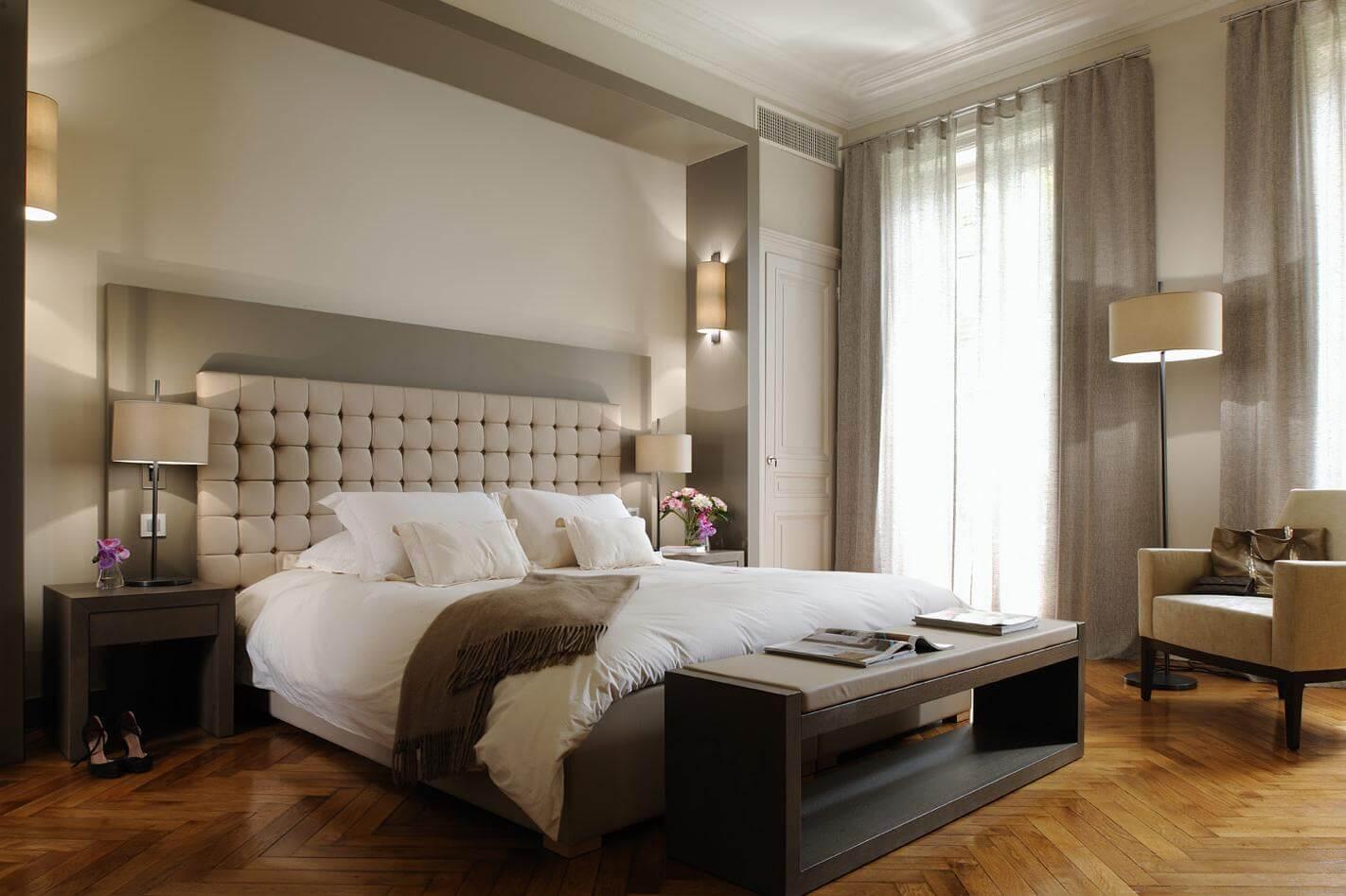 Ремонт в небольшой спальне