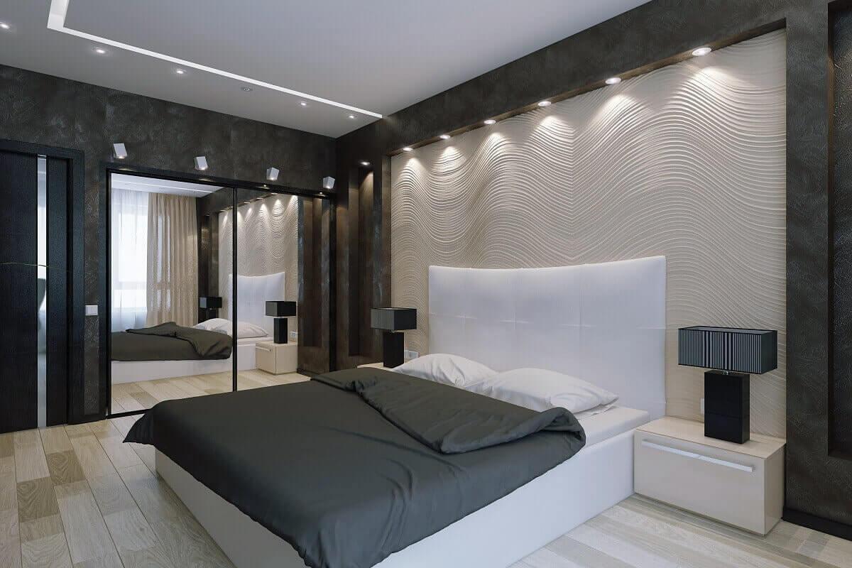 Красивый ремонт для спальни