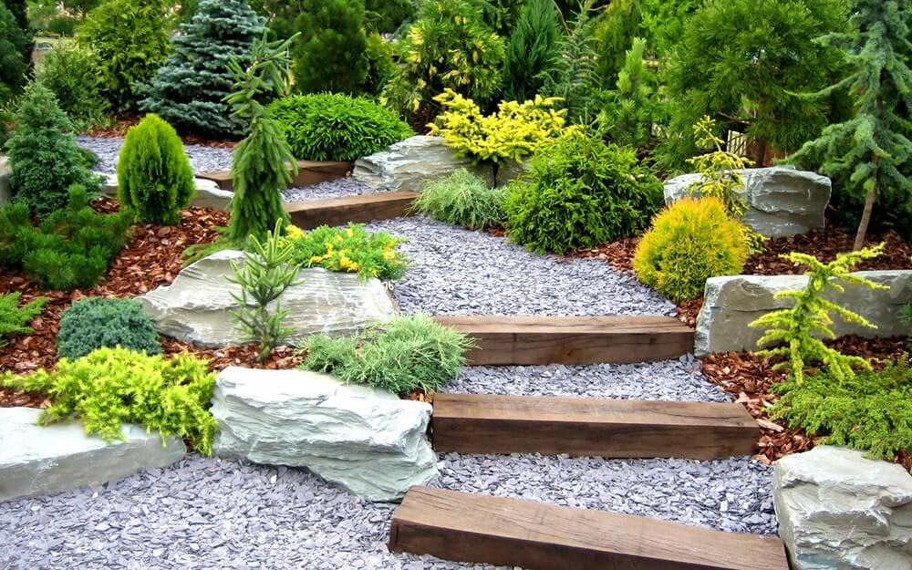 Ландшафтный дизайн садового участка 15 соток