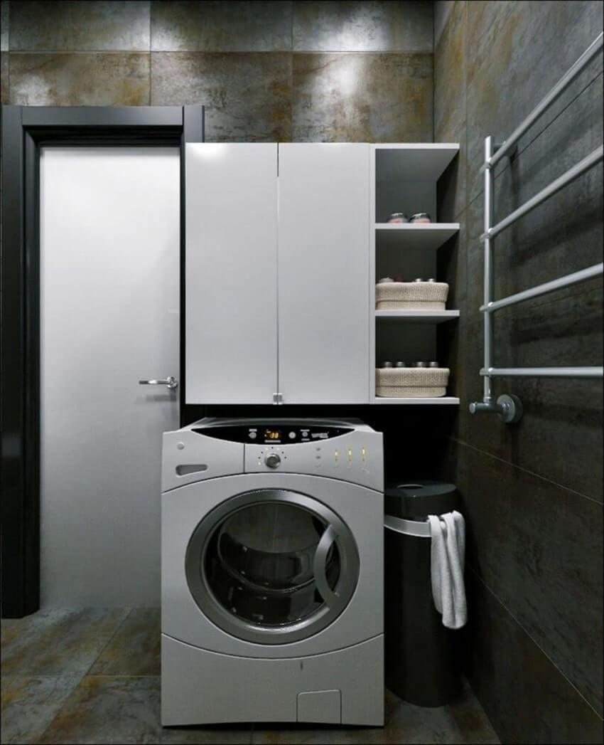 дизайн ванной комнаты 6 кв.м со стиральной машиной