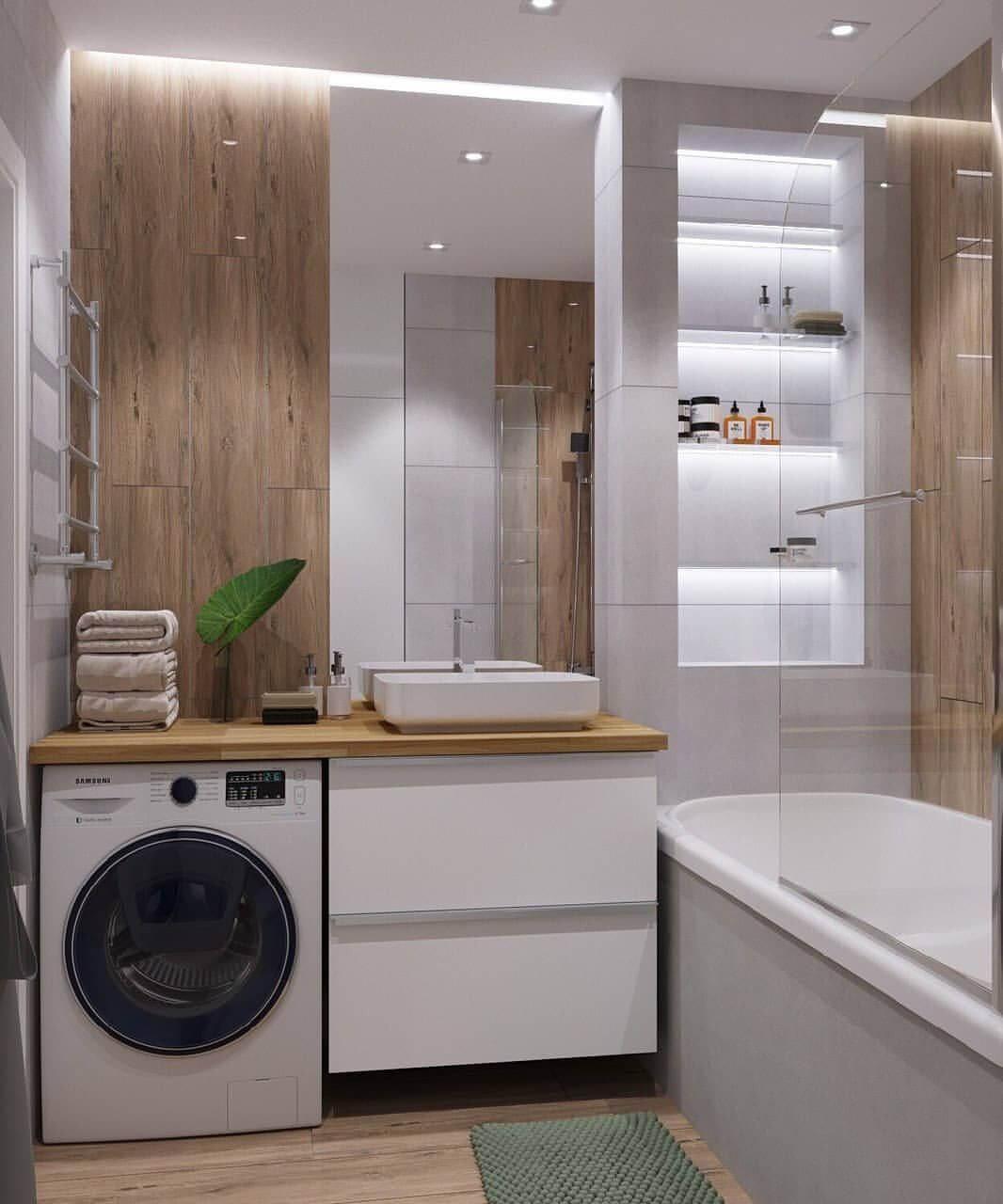 планировка ванной со стиральной машиной