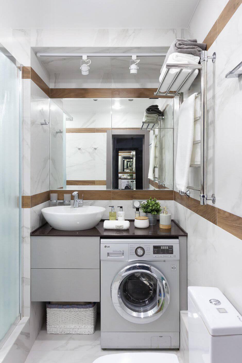 ванная с стиральной машиной