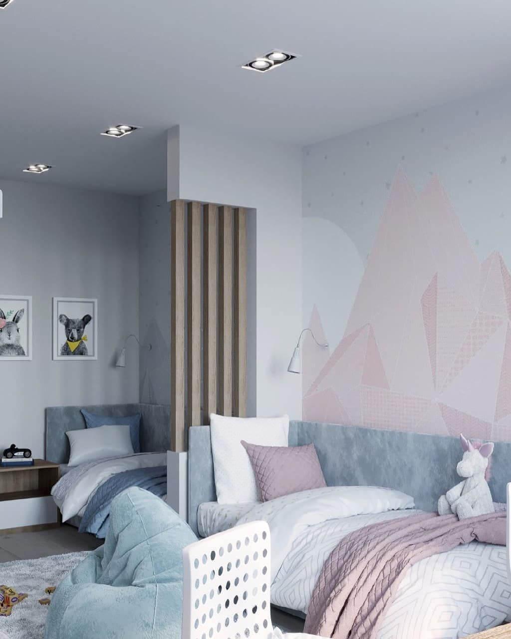 детская комната для девочек дизайн