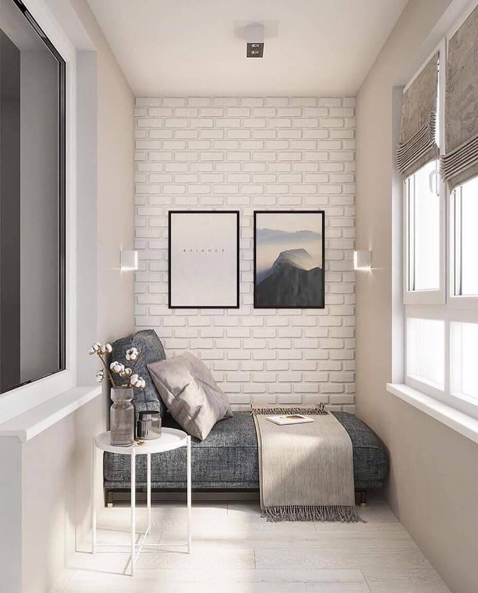 варианты балкона в квартире