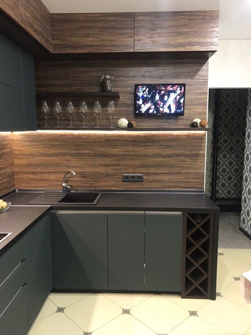 кухня угловая небольшая