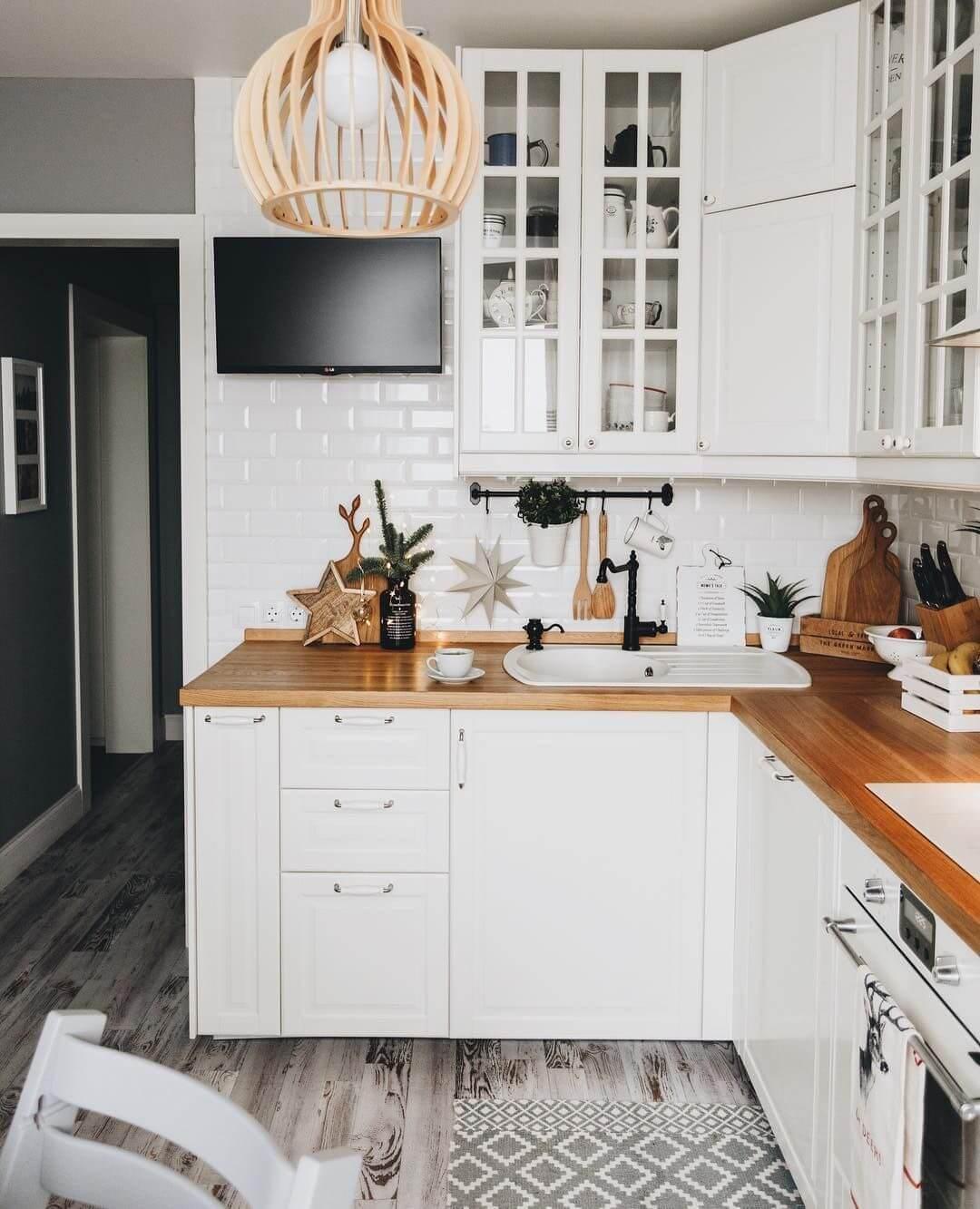 угловая кухня для хрущевки