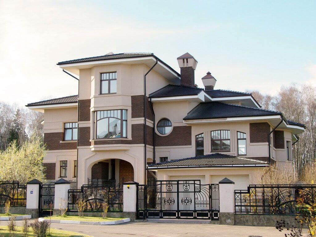 дизайн оформления дома снаружи