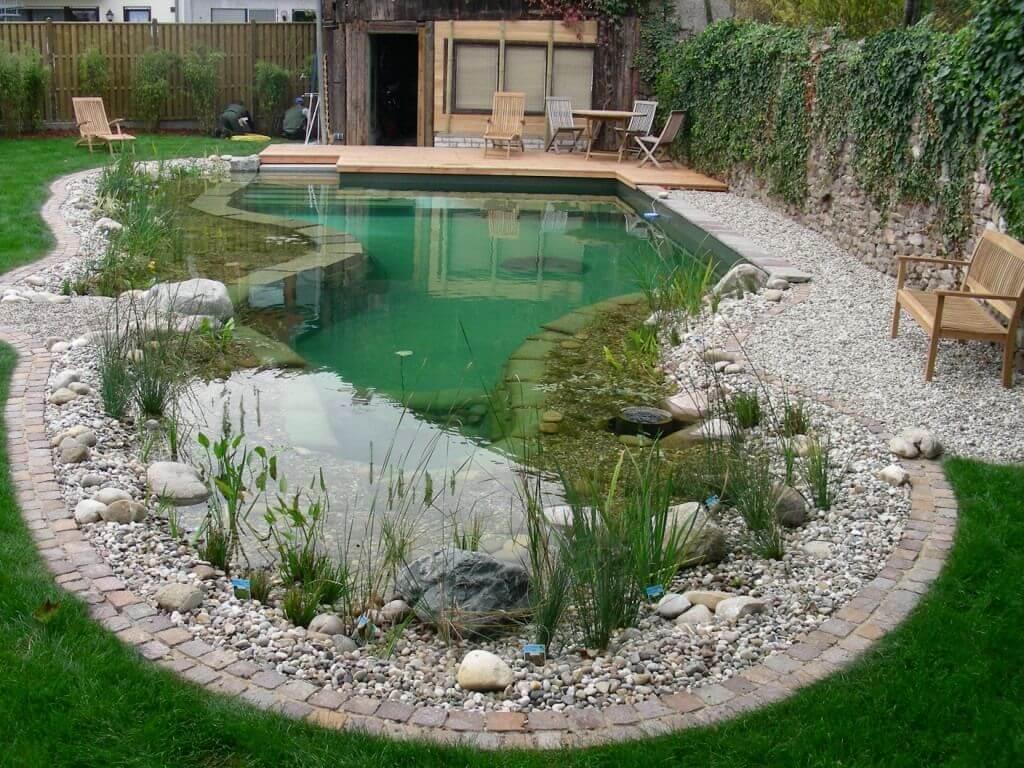 дизайн двора загородного дома