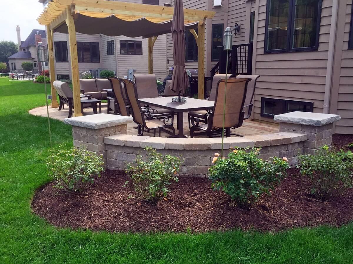 дизайн двора дома