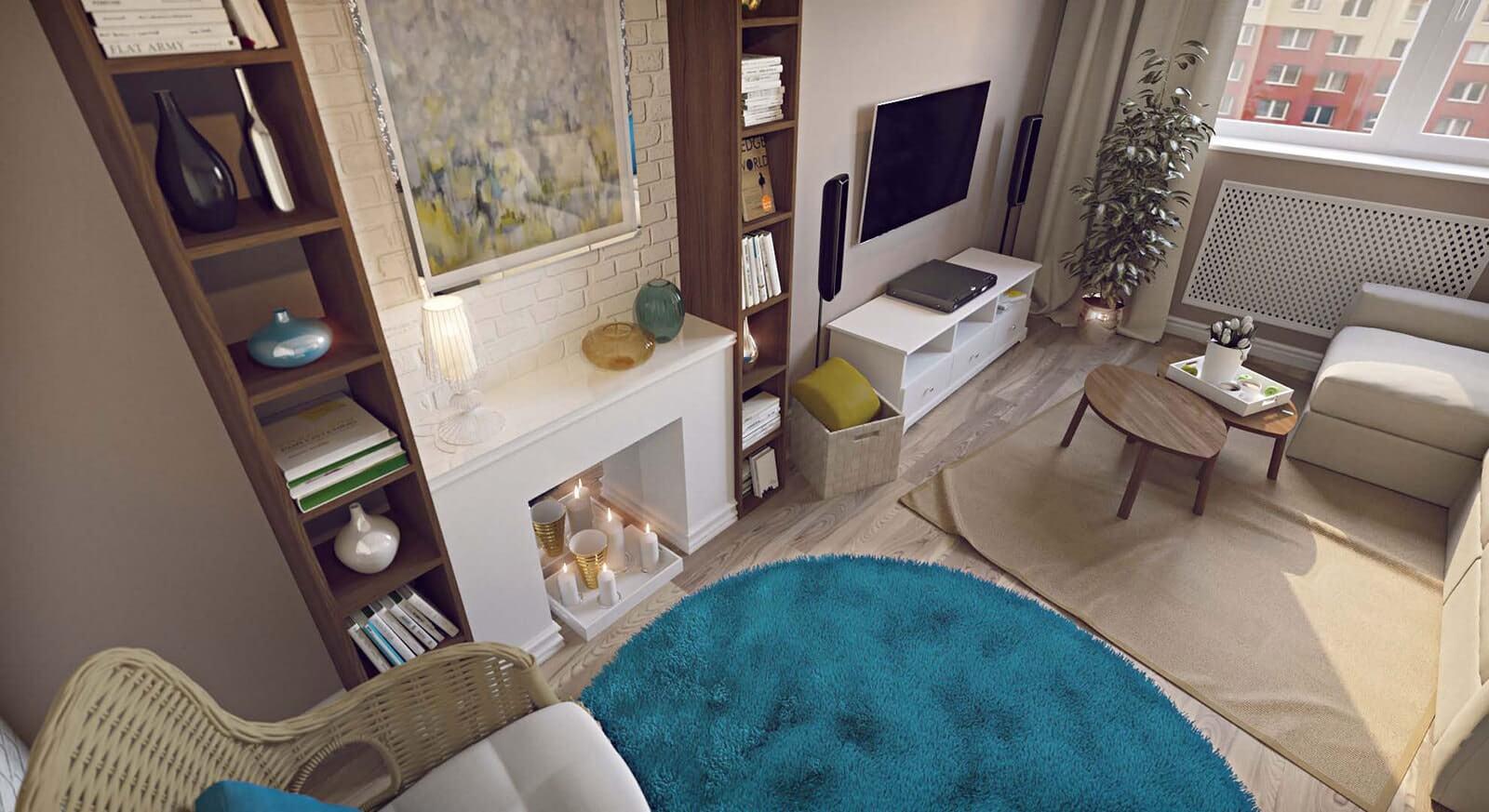 Как сделать дизайн-проект однокомнатной квартиры