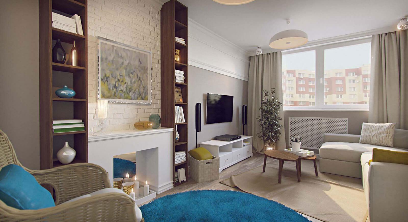 Хранение в однокомнатной квартире