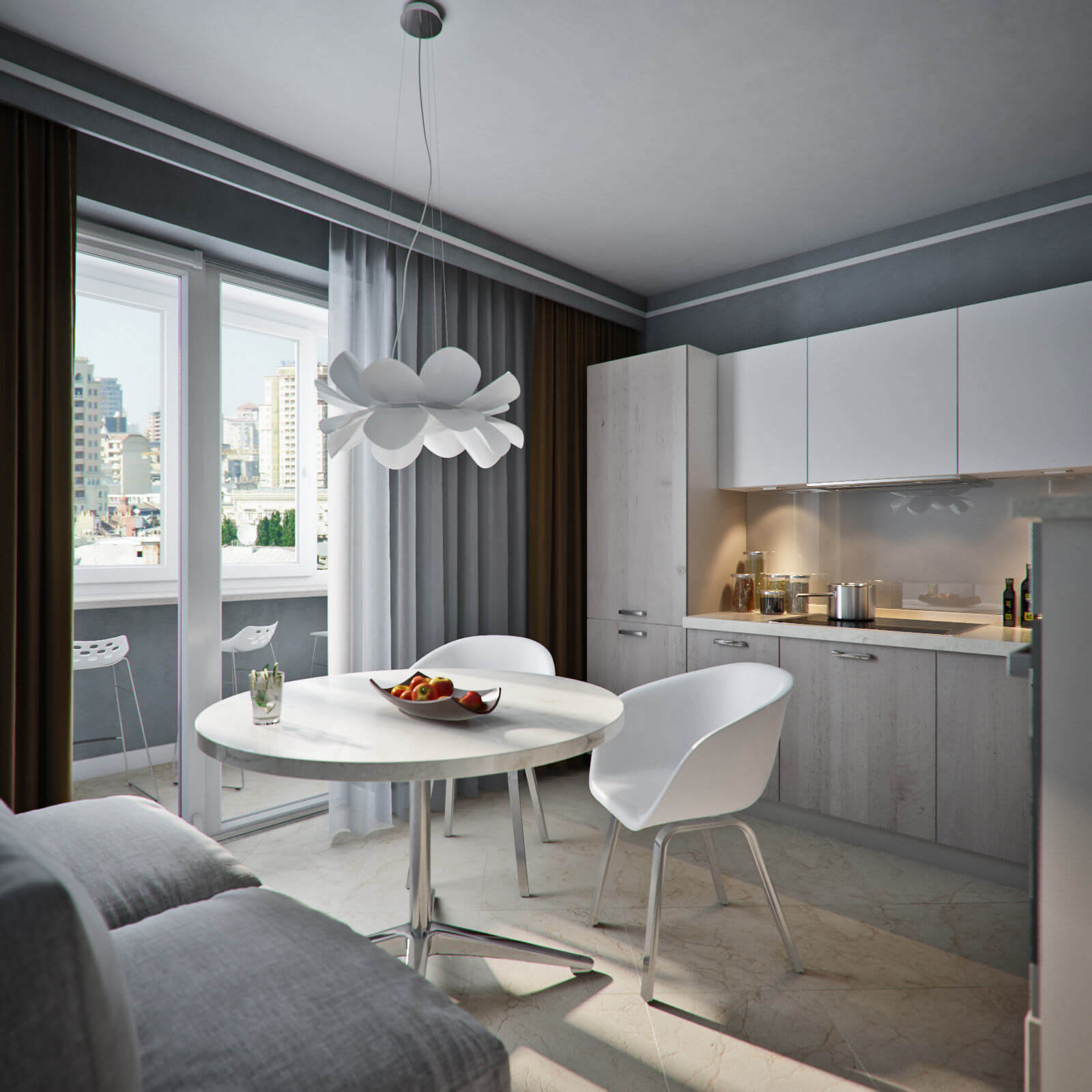 образец дизайн проекта квартиры