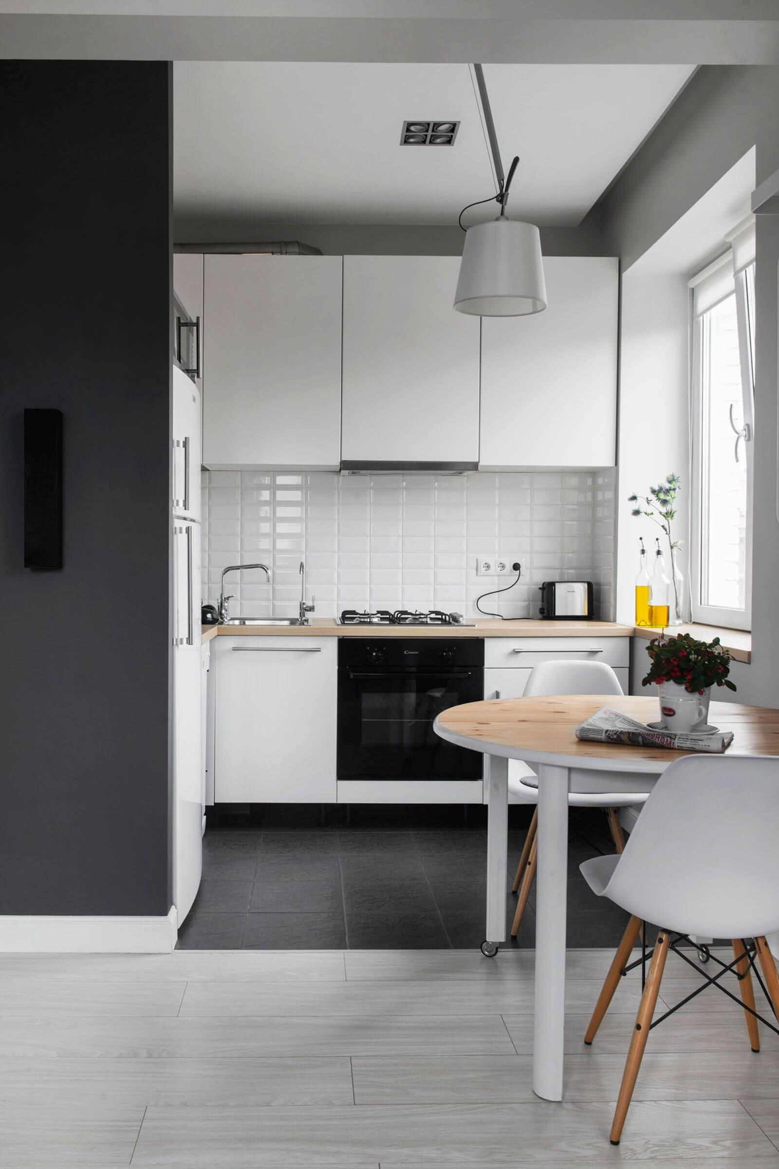 как сделать ремонт кухни в частном доме