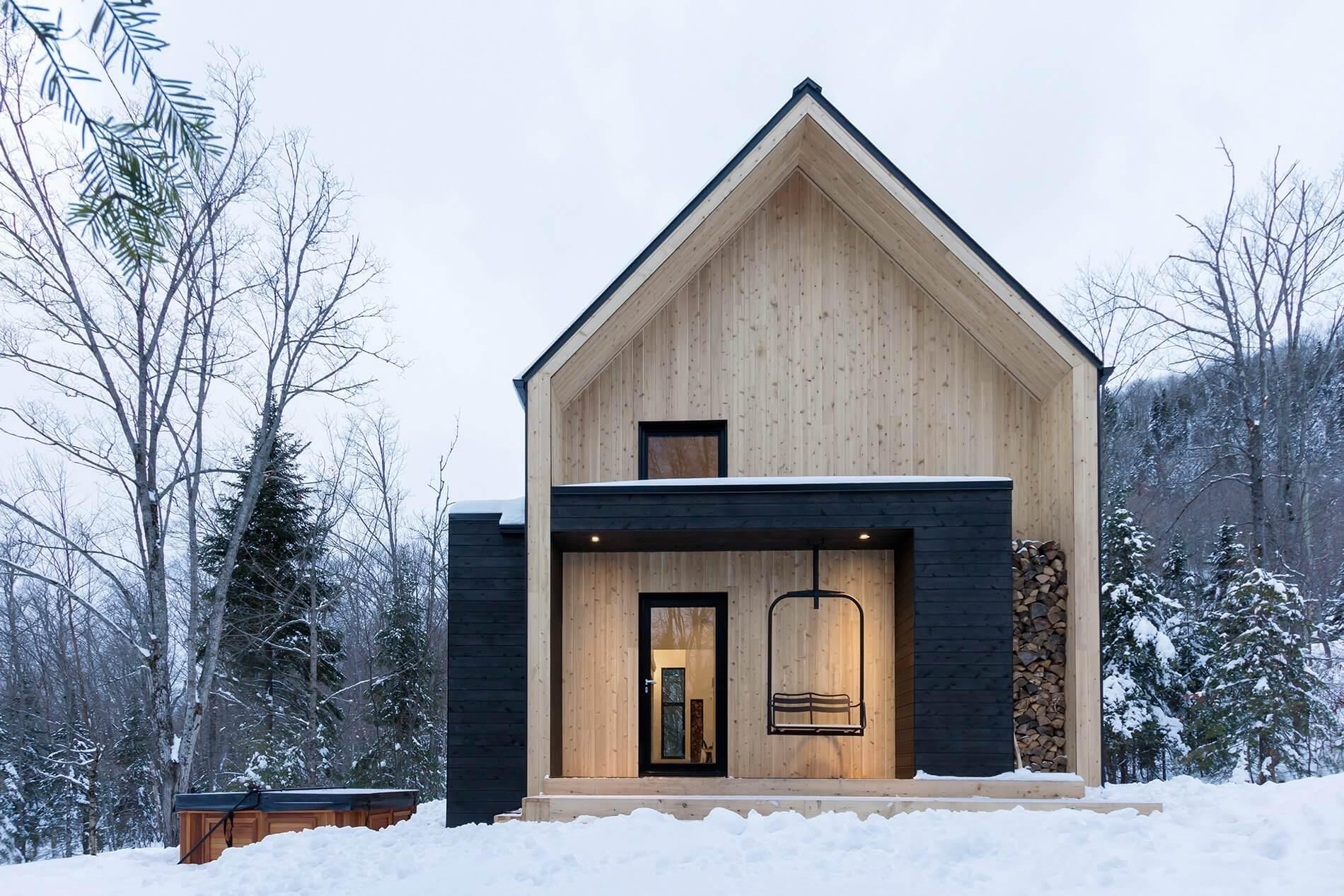 Дачный дом из дерева