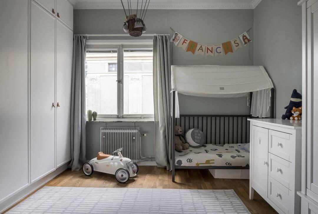 детская с двухместной кроватью