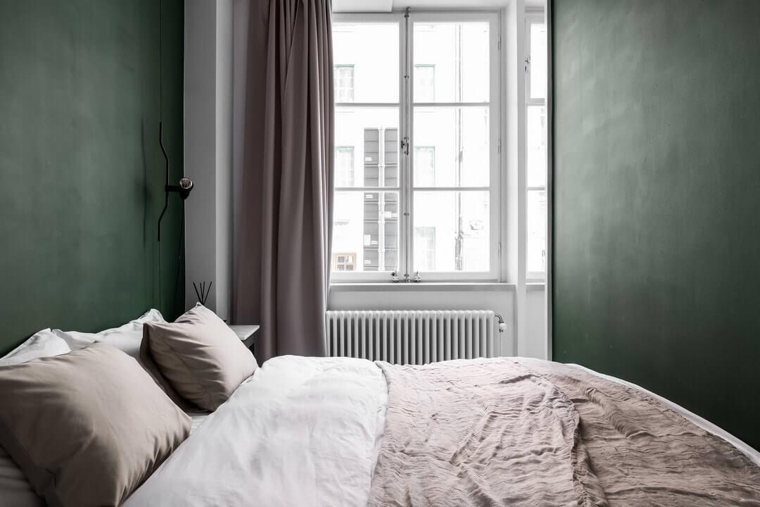 дизайн спальни в 2 комнатной квартире