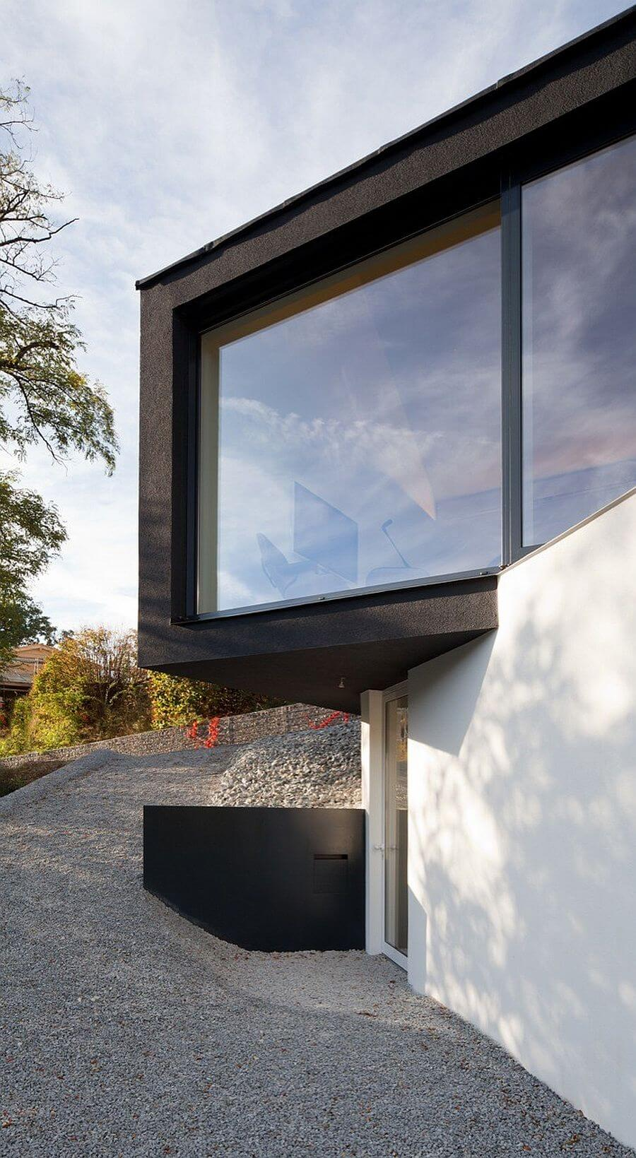 Двухуровневый дом-студия