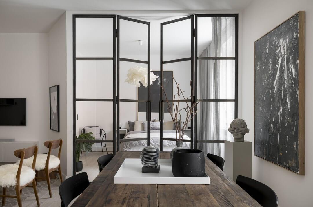 квартира-студия варианты дизайна
