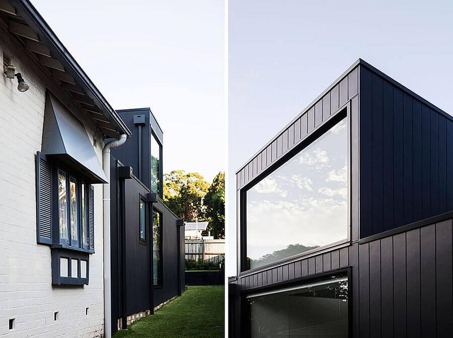 современный дом дизайн