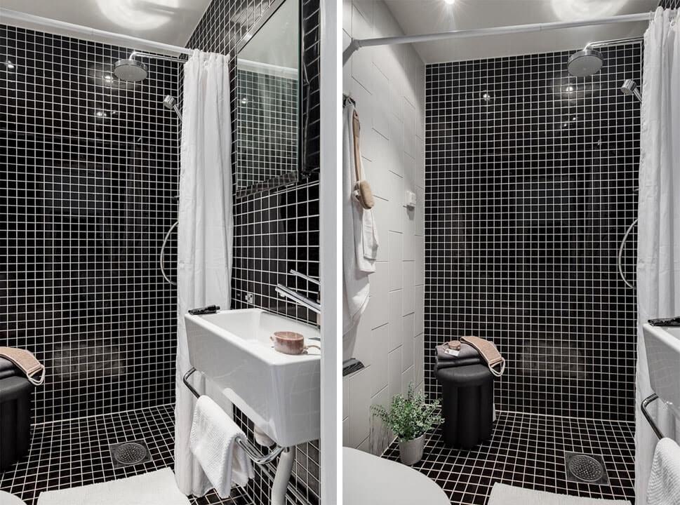 дизайн ванной в гостинке
