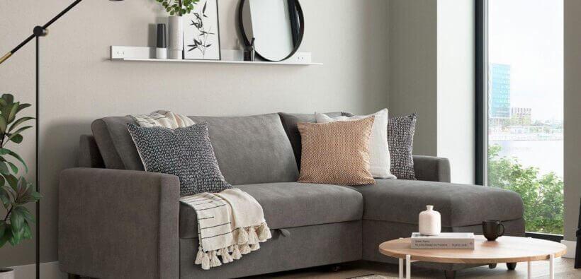 Куда поставить угловой диван в квартире