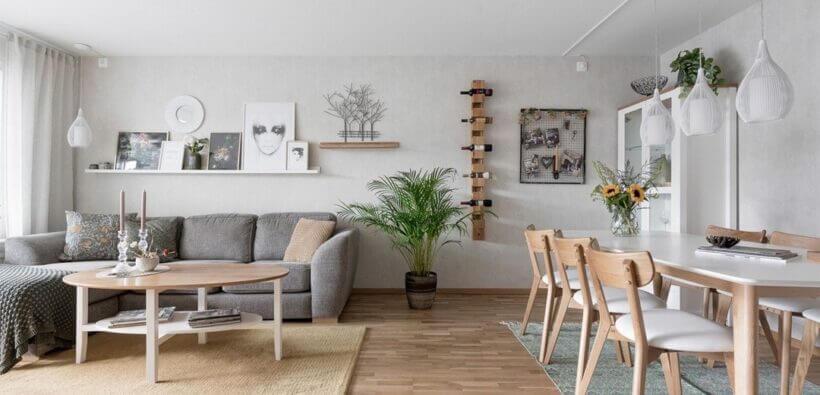 Квартира с элегантной лаунж зоной