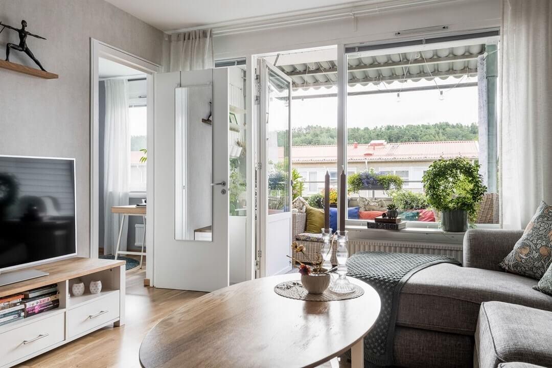 дизайн интерьера светлой квартиры